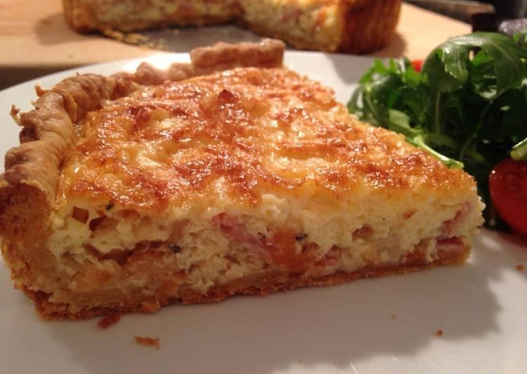 and cheese tart recipe main photo