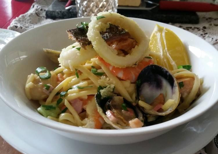 carbonara of the sea recipe main photo