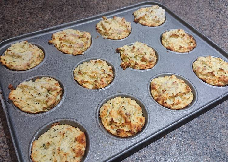 cheesy mashed potato muffins recipe main photo