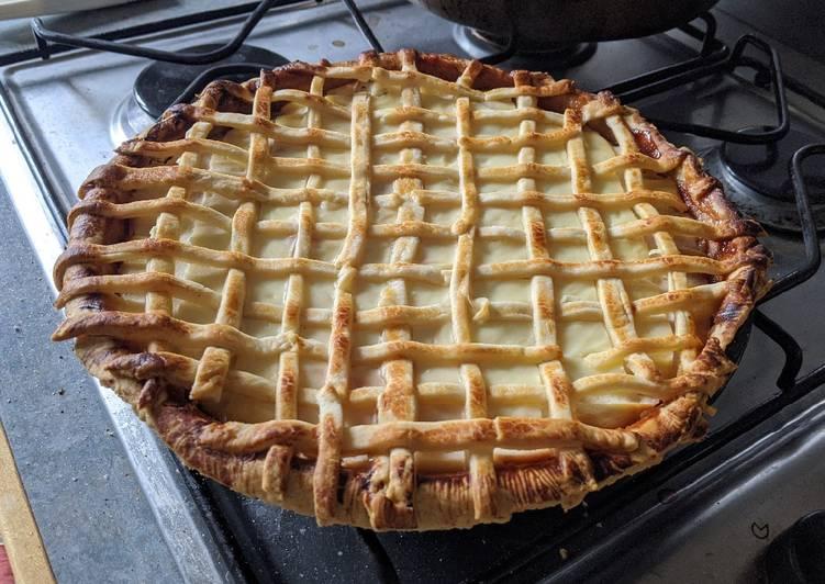 cherry and ricotta pie recipe main photo 1