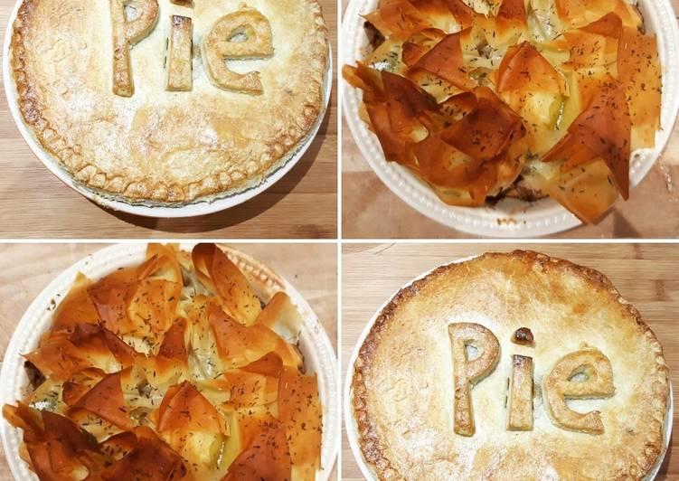 chicken and mushroom pie recipe main photo 1