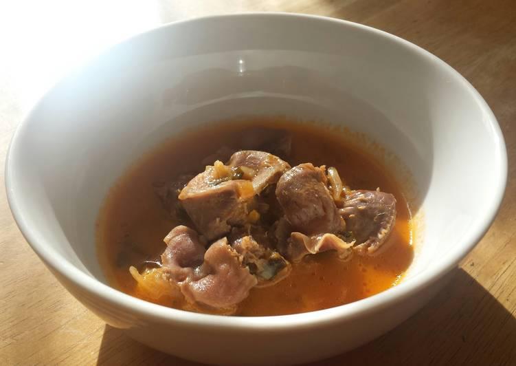 chicken gizzard stew recipe main photo 1