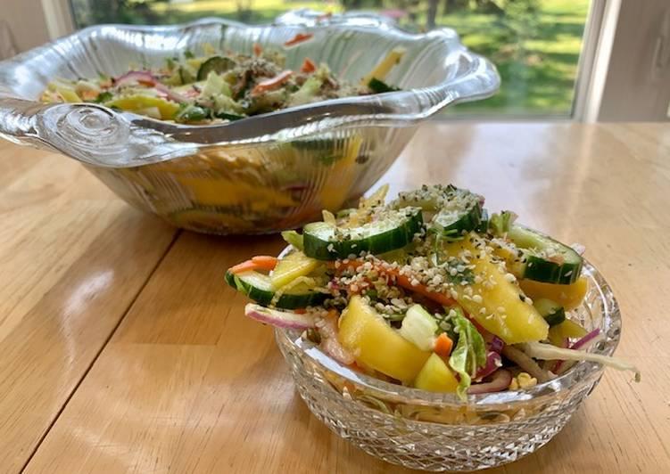 chopped thai mango salad recipe main photo