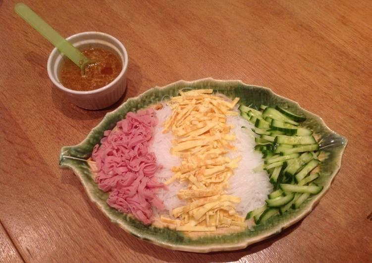 colourful noodle salad version 1 recipe main photo