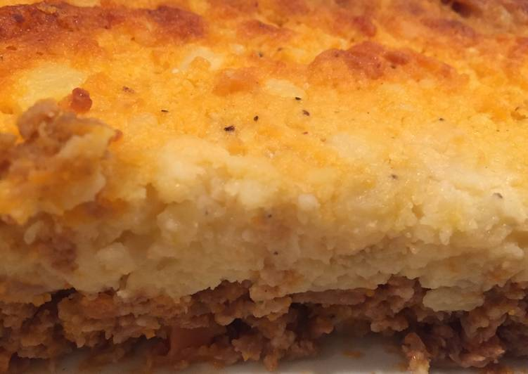 cottage pies with cheesy potato topping recipe main photo