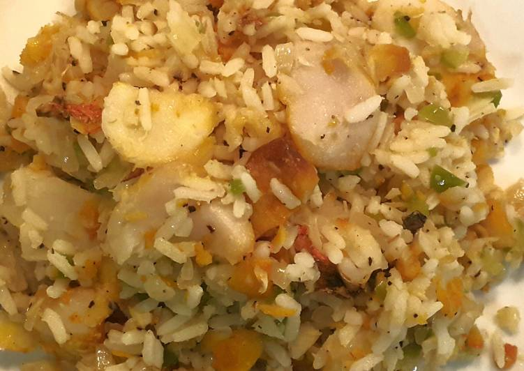 easy haddock rice dish recipe main photo