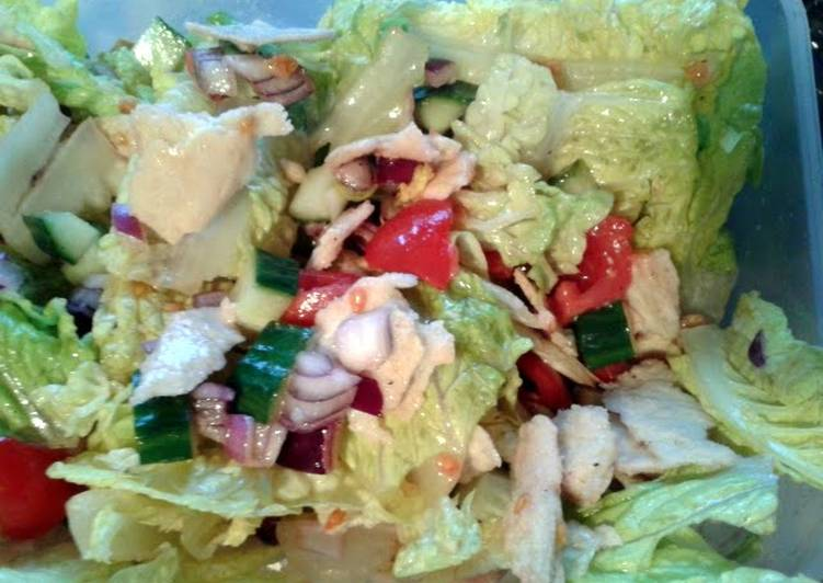 fattoush pitta bread salad recipe main photo