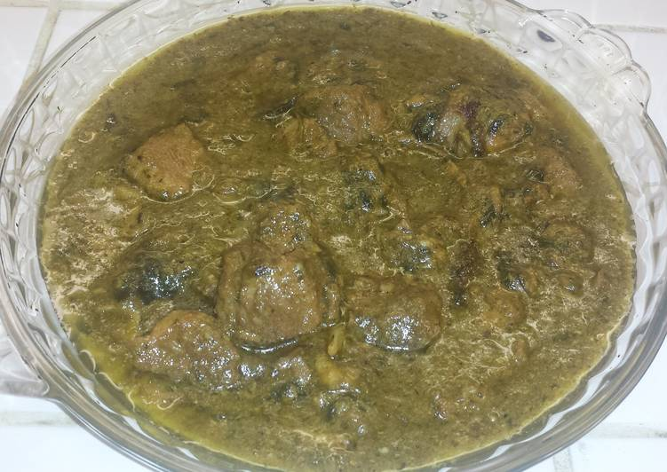 in coriander sauce recipe main photo