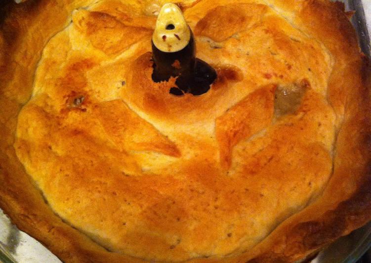 leek and chicken pie recipe main photo