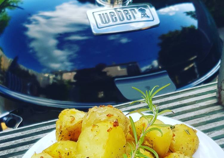 lemon and herb bbq roast potatoes🍋 recipe main photo 1