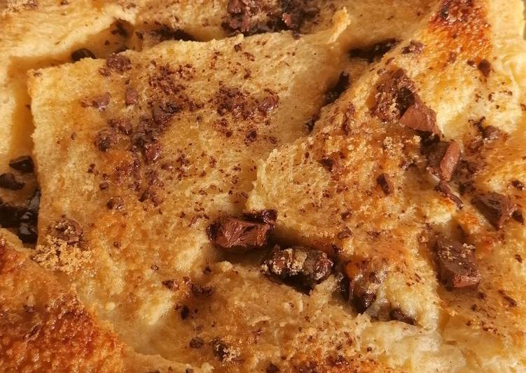 maes bread and butter pudding recipe main photo