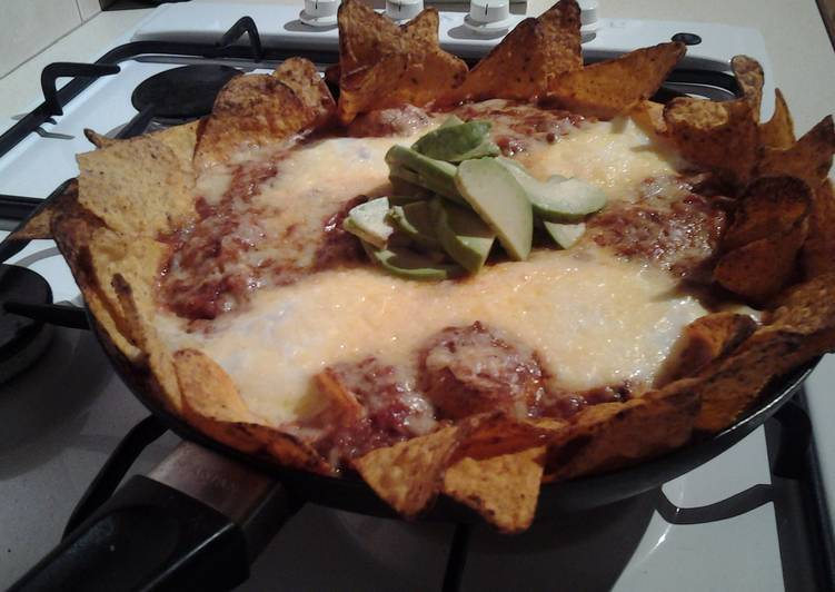 mexican eggs nacho style recipe main photo
