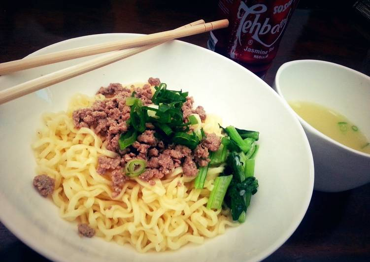 minced beef noodle in english bahasa recipe main photo 1