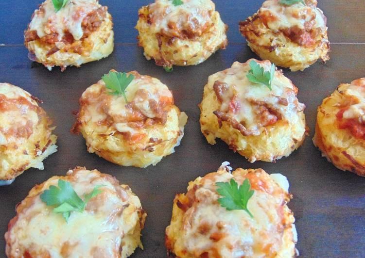 mini cottage pies with potato nests recipe main photo