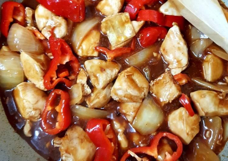 my bbq chicken homemade quick bbq sauce 😘 recipe main photo