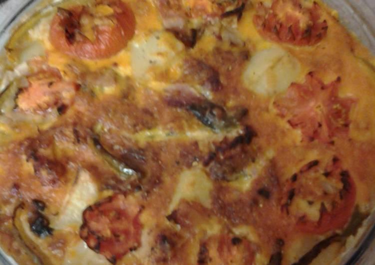 my really big omelette bake recipe main photo