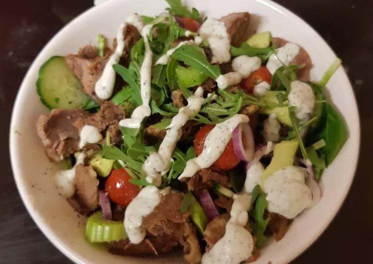 my roast lamb salad 😁 recipe main photo