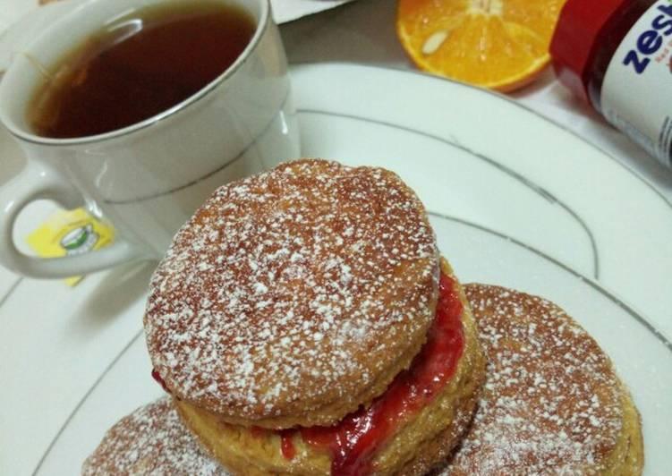 orange english tea scones recipe main photo