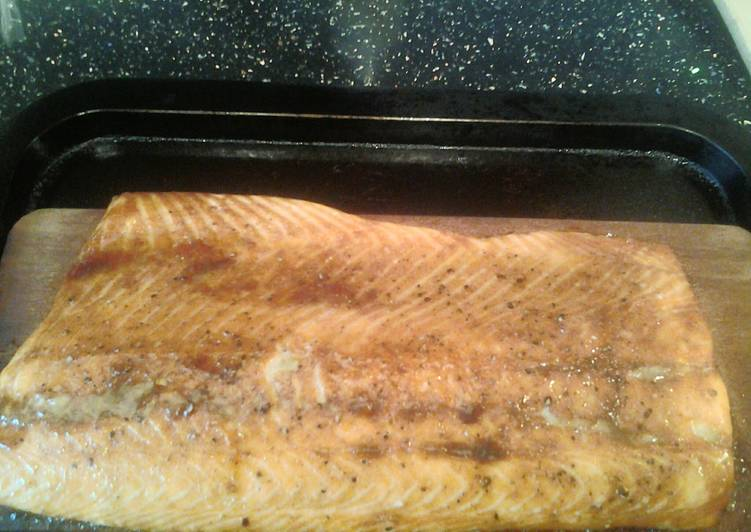 planked salmon recipe main photo