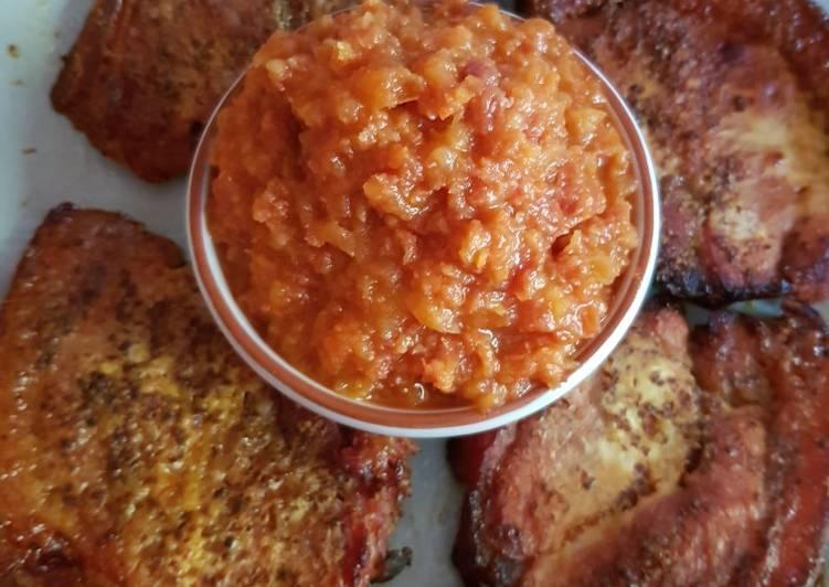 roasted sweet mustard gammon recipe main photo 1