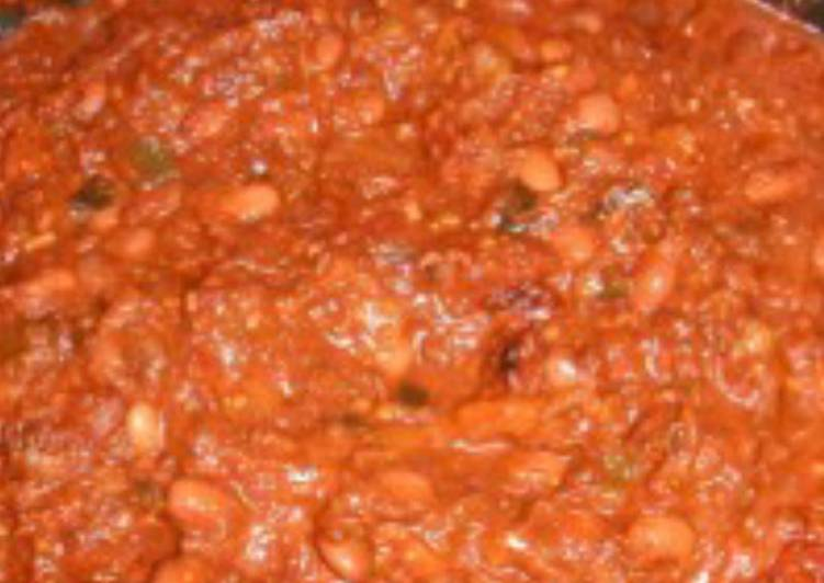sausage and bean casserole slow cooker recipe main photo
