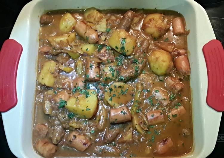 sausage and potato pot recipe main photo
