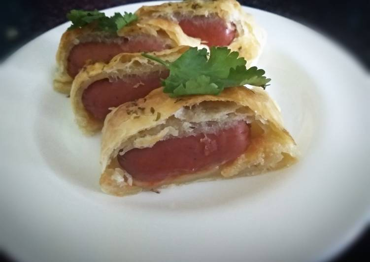 sausage roll recipe main photo