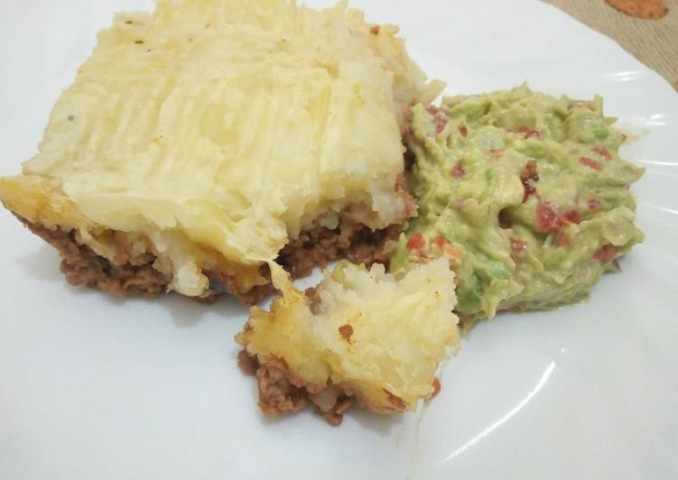 shepherd pie with guacamole recipe main photo 1