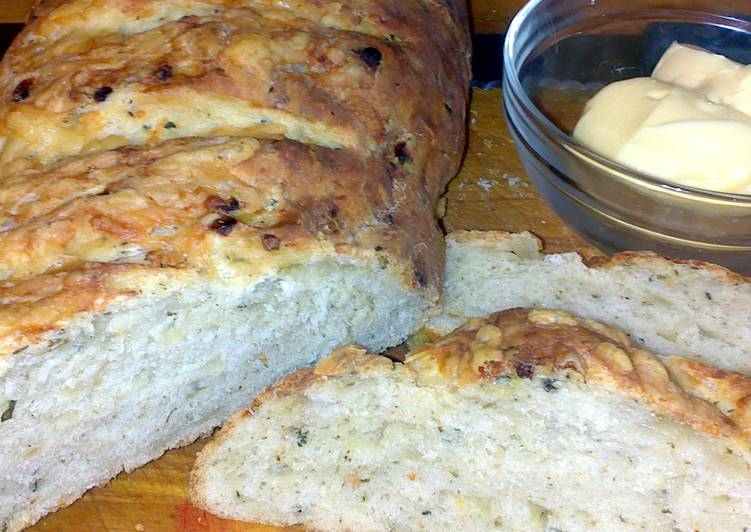 sigs cheddar cheese and onion bread recipe main photo