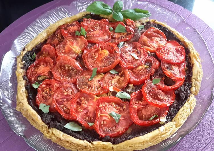 sigs olive pesto and tomato tartlet recipe main photo