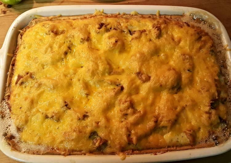 smoked salmon and potato tart recipe main photo