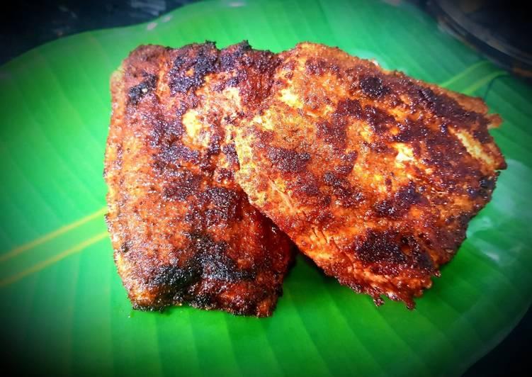 spicy salmon fry recipe main photo 1