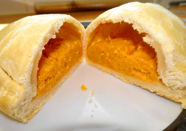 sweet potato cheese onion pasties recipe main photo