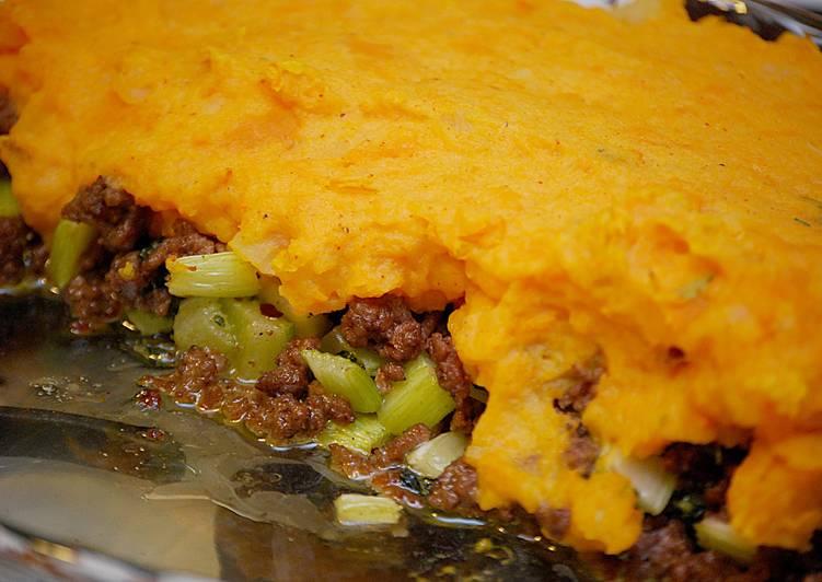 sweet potato shepherds pie recipe main photo