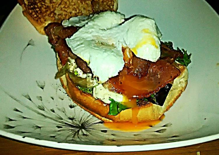 texs blt poached egg 🐷🍲🍅🍳 recipe main photo