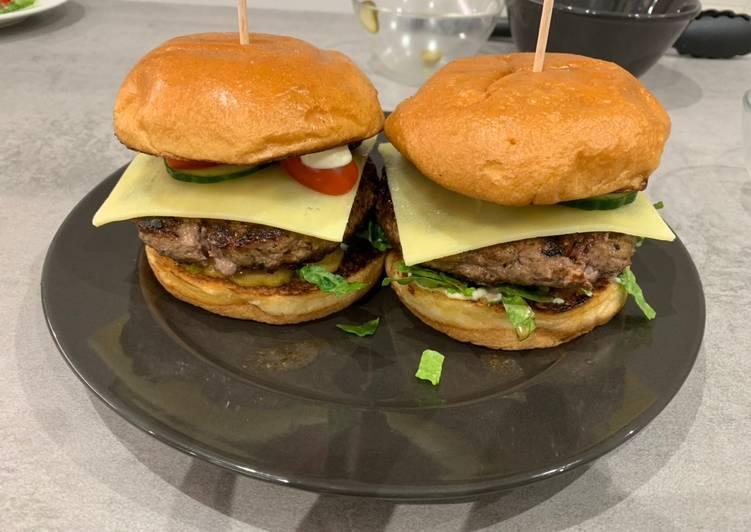 tonys burgers 🍔 recipe main photo