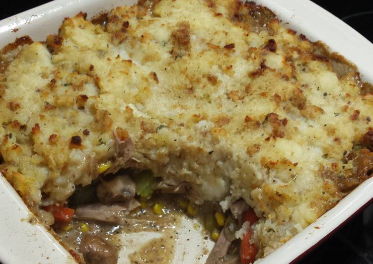 Turkey Pot Shepherd's Pie?