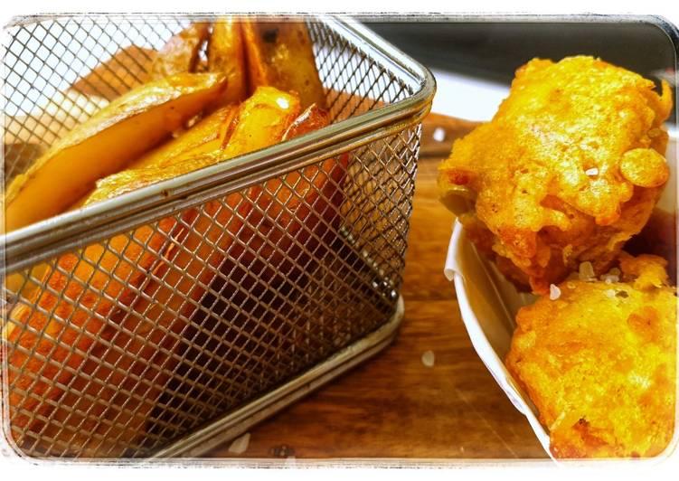 vegan fish and chips recipe main photo