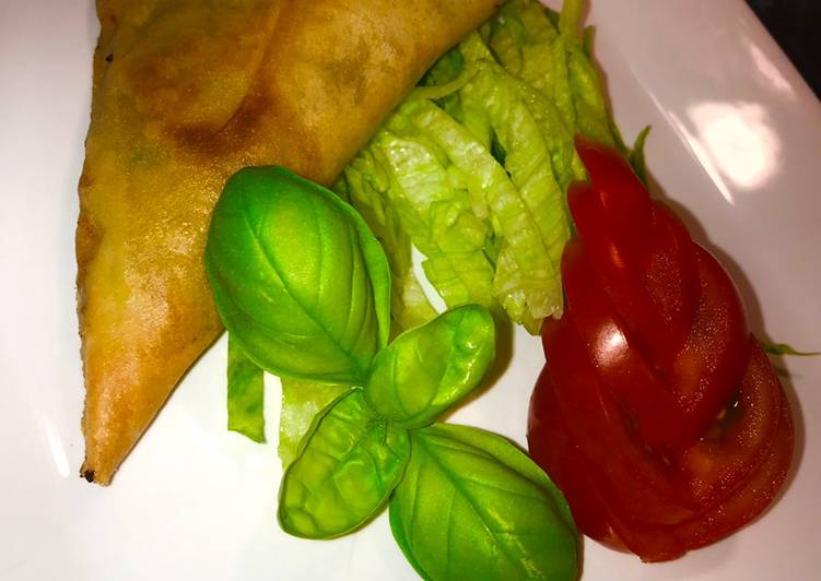 vegetarian samosa recipe main photo