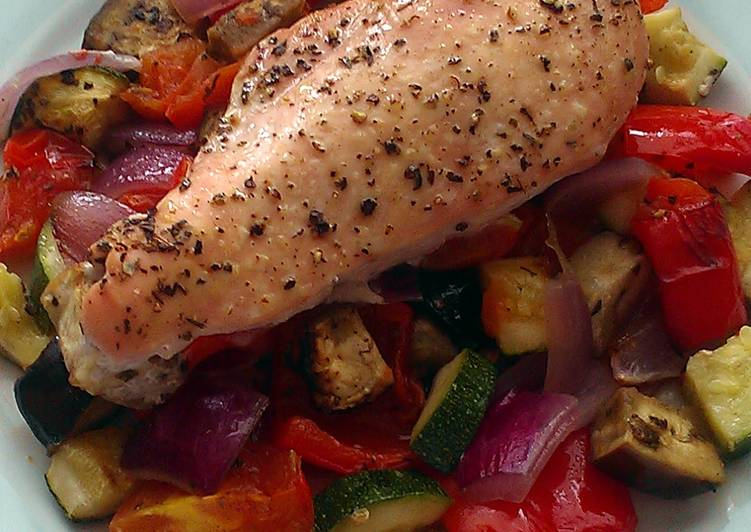 vickys roast chicken ratatouille gf df ef sf nf recipe main photo 1