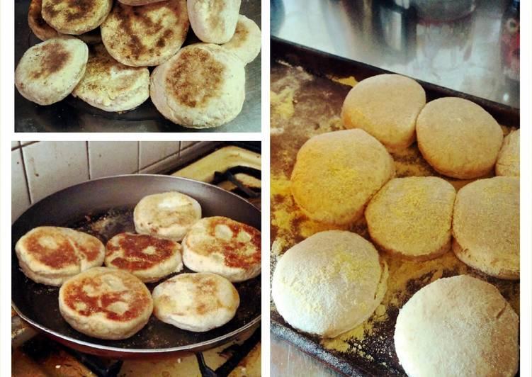 whole wheat english muffins recipe main photo